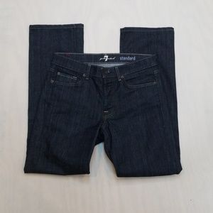 Seven For All Mankind Standard Fit Jeans 30x30.5